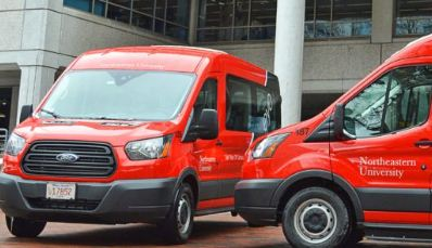 Northeastern University Taps Via to Power New On-Demand Safety Shuttle